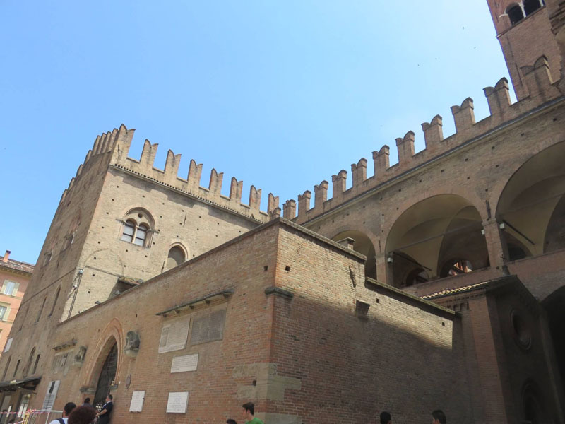 Palazzo di Re Enzo en Bolonia