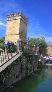 Alcázares de los Reyes Cristianos en Córdoba