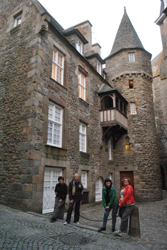 Callejeando por Saint Malo en Bretaña