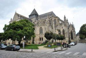 Iglesia de Saint Malo en Dinan