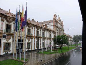 Palacio de la Merced desde el bus