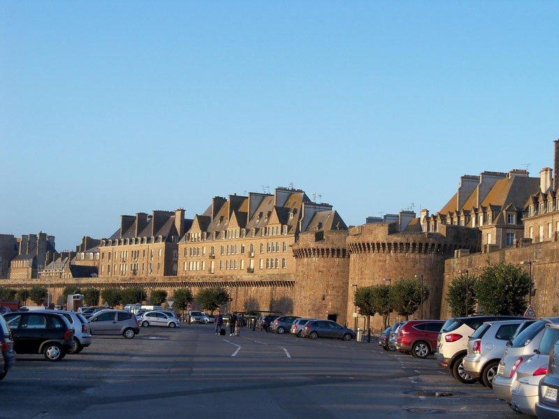 Parking Saint Vincent en Saint Malo