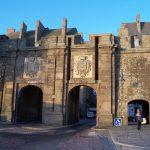 Puerta de Saint Vincent en Saint Malo en Bretaña