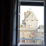 Vistas desde la ventana del hotel L'Universe en Saint Malo