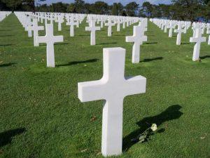 Cementerio americano de Normandía
