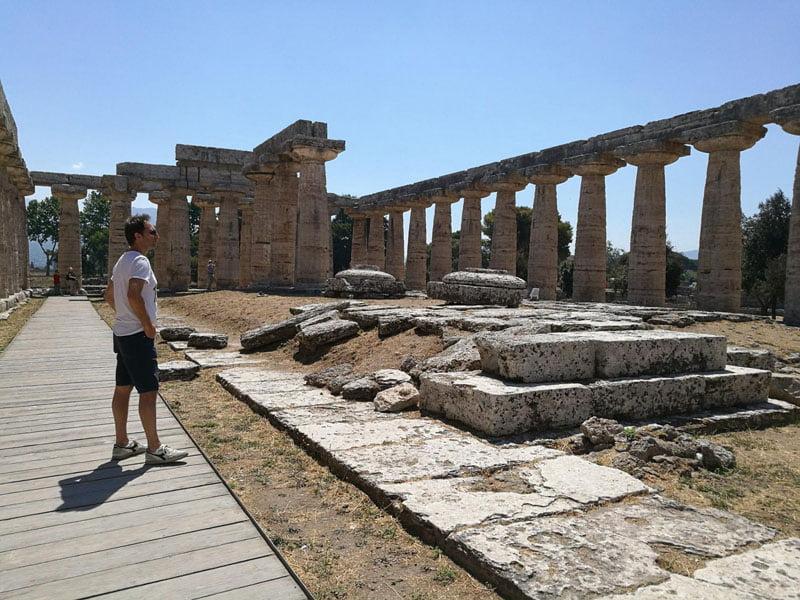 En el templo de Hera
