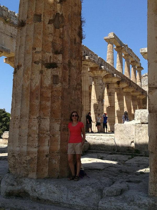 En el templo de Neptuno