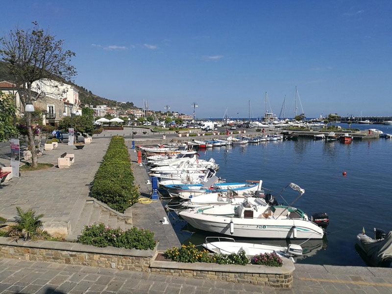 Puerto turístico en Acciaroli