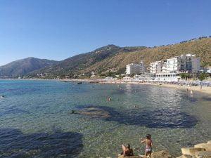 Playa en Acciaroli