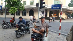 La vida en la calle en Vietnam