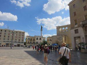 La plaza de San Oronzo
