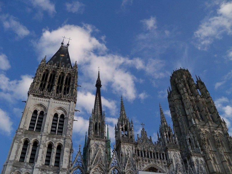 Catedral de Nuestra Señora de Rouen en Normandía