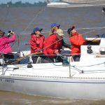 Surcando el río de la Plata