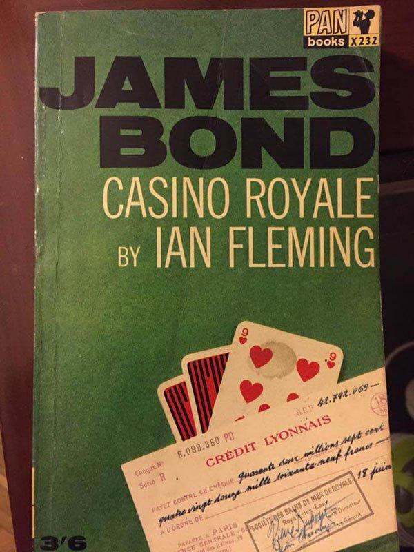 Casino Royale - Ian Fleming - El viajero accidental