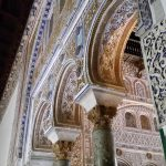 Detalle del Palacio de Pedro I El Cruel_ Reales Alcázares