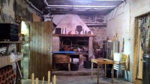 Interior del furancho do Cabaleiro