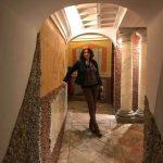 Posando en las Casas de la Judería en Sevilla