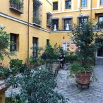 Patio en las Casas de la Judería de Sevilla
