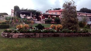 Jardín del furancho de Martín