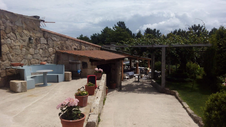 Exterior del furancho de Martin y Tibi