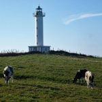 Faro de Llastres en Asturias