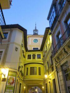 Parte trasera del Ayuntamiento de Oviedo