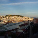 Vista de Lisboa desde el mirador Pedro de Alcántara