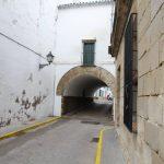 Calle Arco en Cañete de las Torres en Córdoba