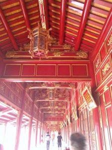 En la ciudad imperial en Hue