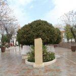 En el parque de Andalucía en Cañete de las Torres