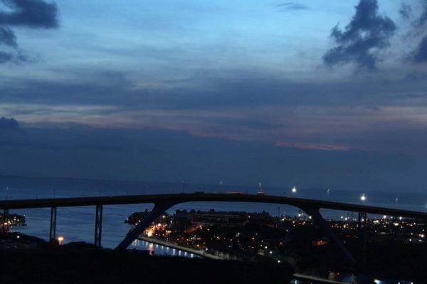Puente Juliana: canal de entrada a la bahía de Santa Ana en Curaçao