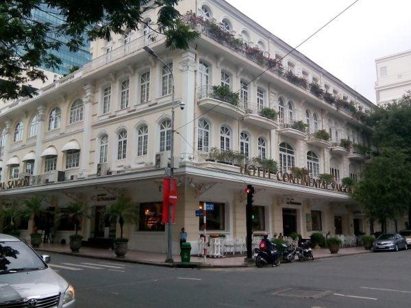 Fachada Hotel Continental en Ho Chi Minh