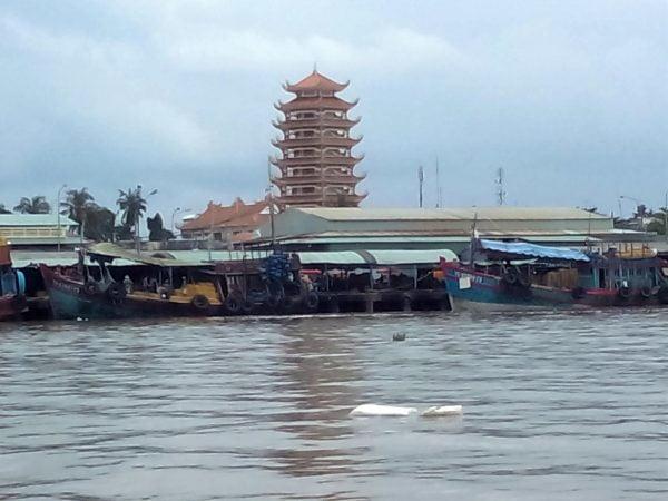 Vista alrededor del Mekong