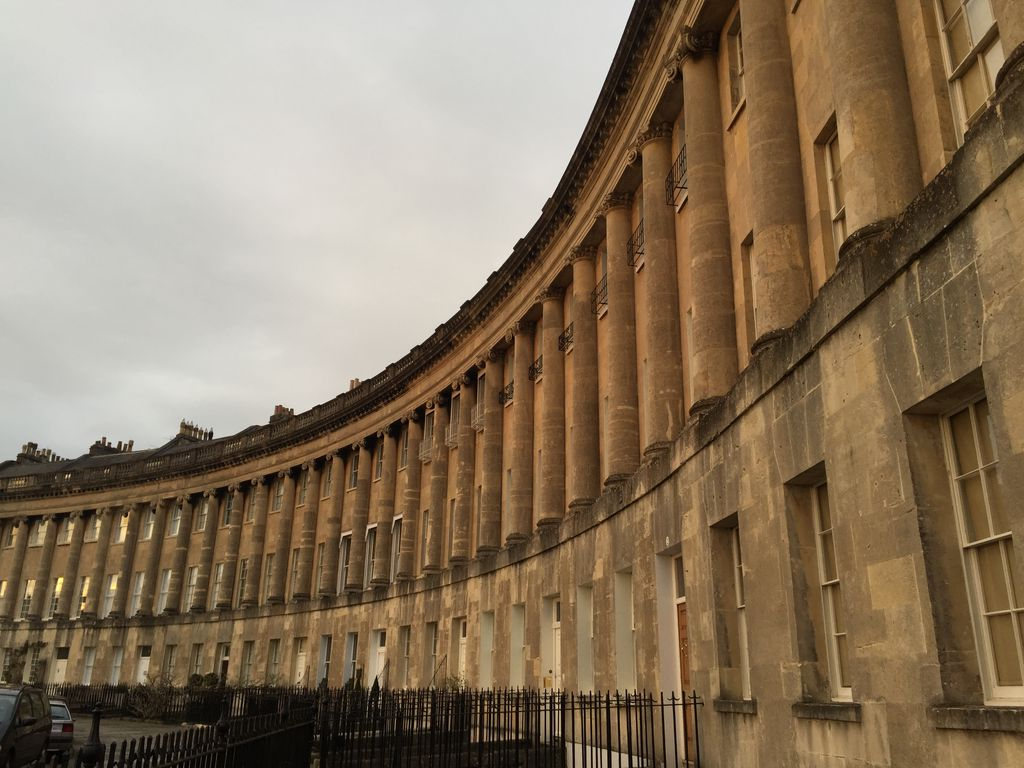 Es el Royal Crescent, de John Wood el joven
