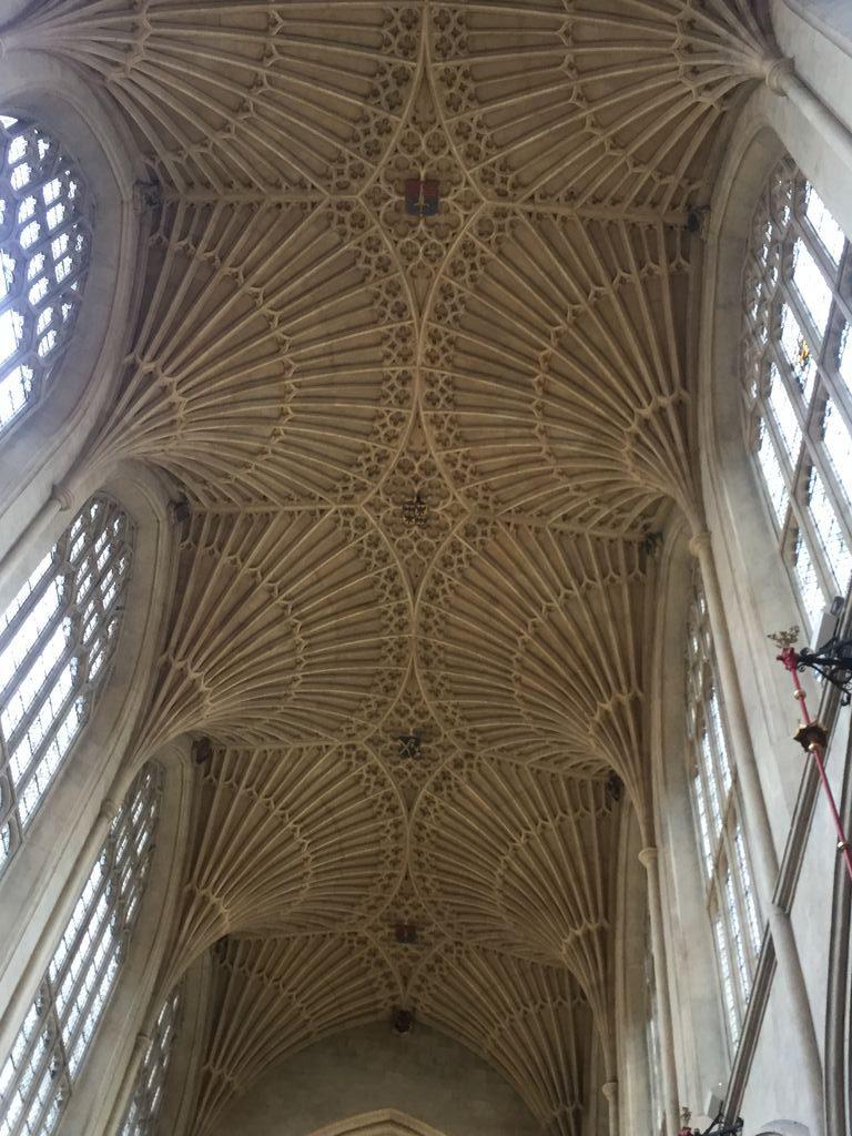 Bóveda de la nave principal de la Abadía