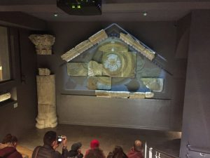 Restos del templo de Sullis Minerva