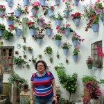 Luz Picos en el Patio Juan Rufo de Córdoba