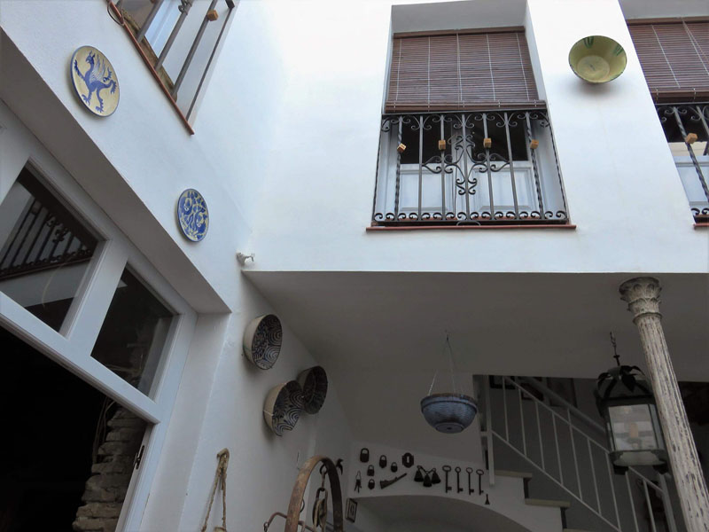 En el Patio Juan Rufo de Córdoba