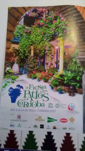 Cartel Patios de Córdoba 2017