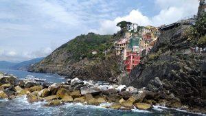 Riomaggiore en la Cinque Terre_ Liguria_Italia