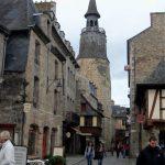 Torre del Reloj en Dinan en Bretaña