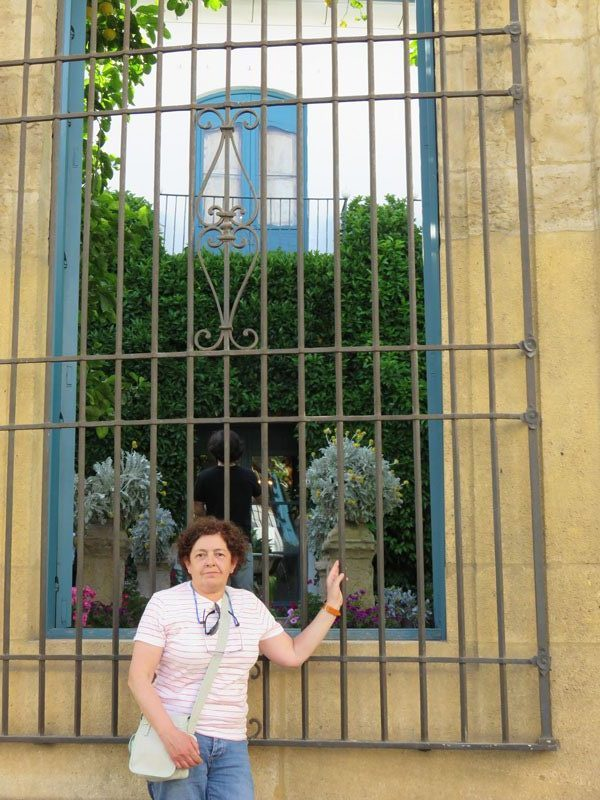 Ventana del Palacio de Viana