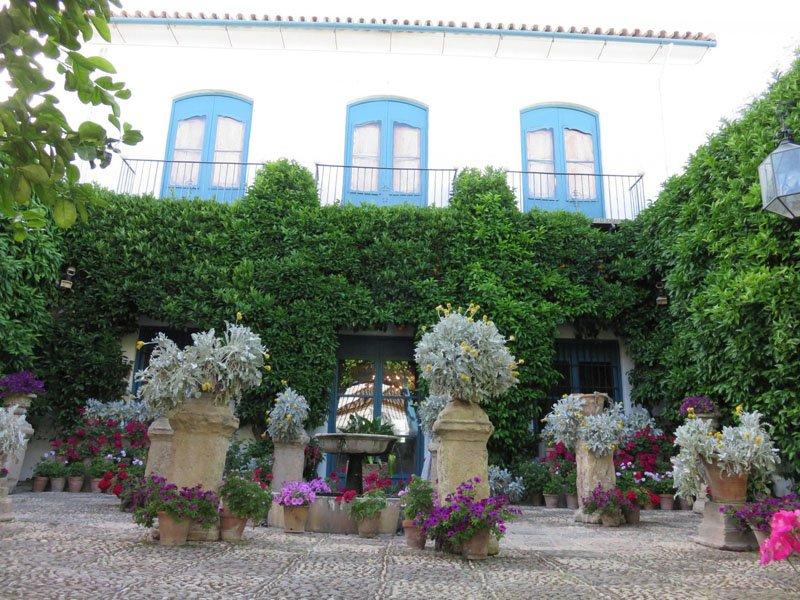 En el Palacio de Viana en Córdoba