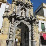 Portada de la iglesia de San Pablo en Córdoba