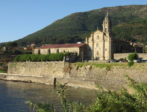 Monasterio de Oia, único a ras de mar