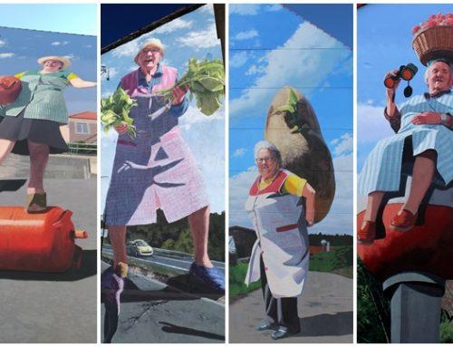 Las abuelas con superpoderes colorean Galicia