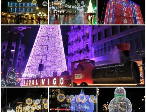Vigo, la Ciudad de las Luces por Navidad