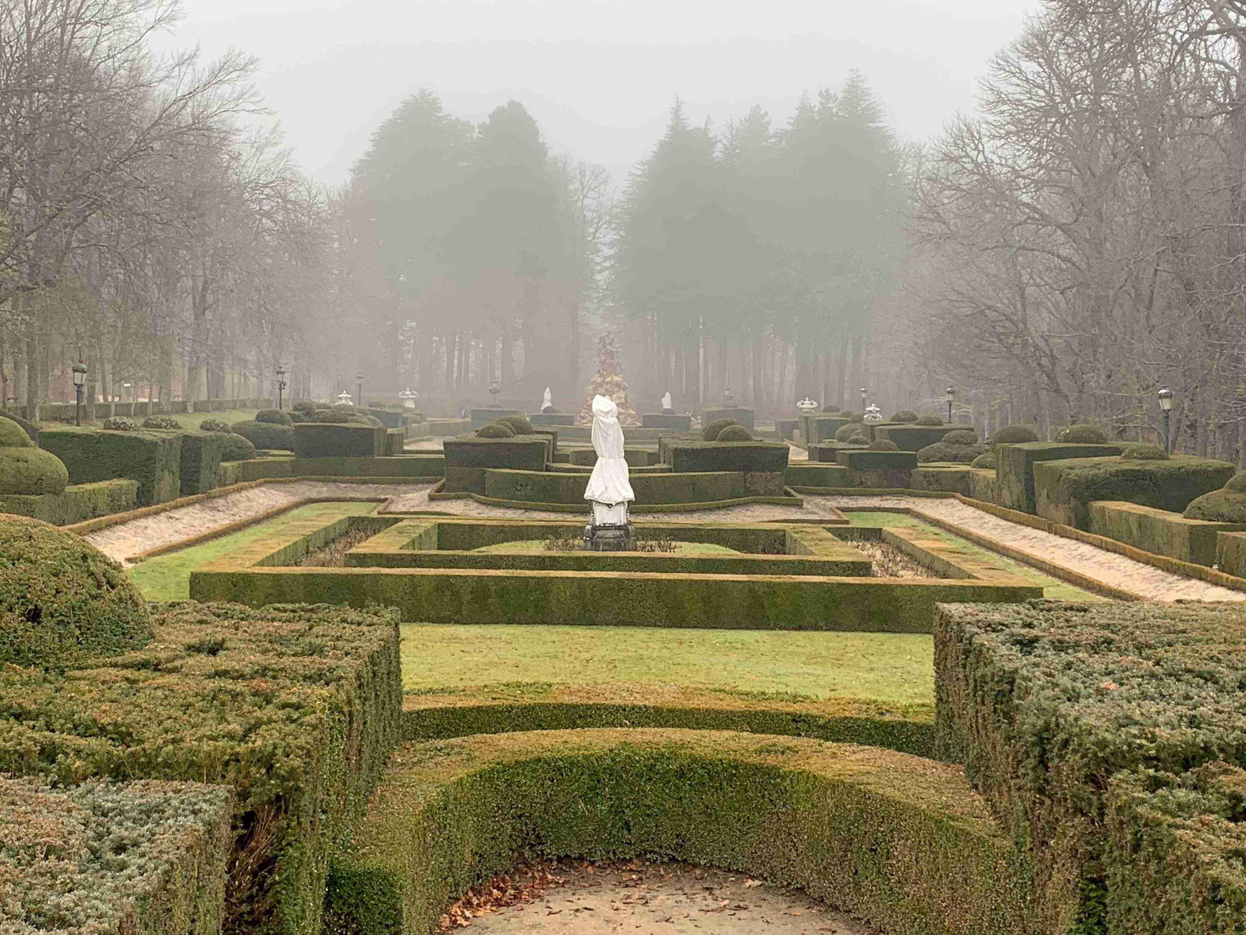 jardines Palacio San Ildefonso