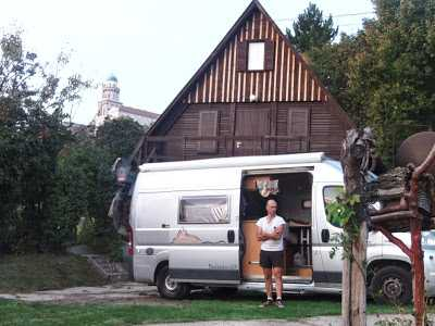 Hungría: lago Balaton en autocaravana