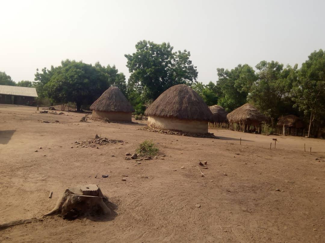 Habitación de los fulani en el norte de Benin